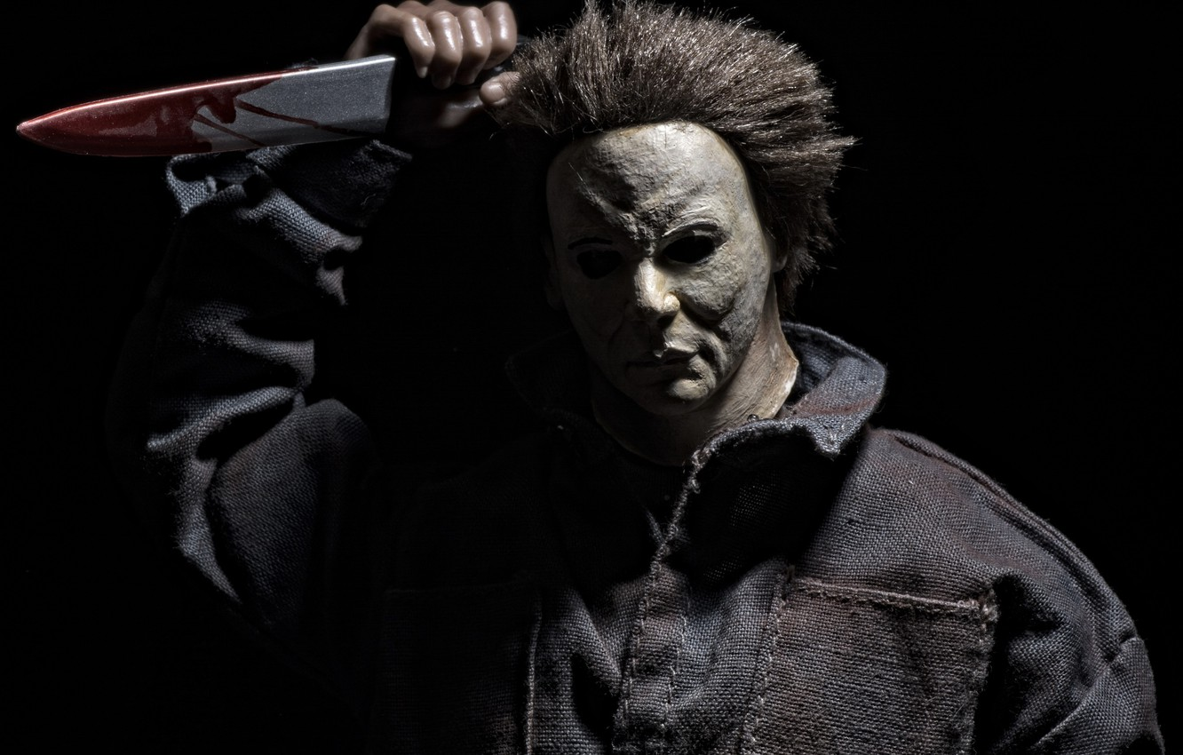 Wallpaper Toy Mask Knife Halloween Michael Myers Images For