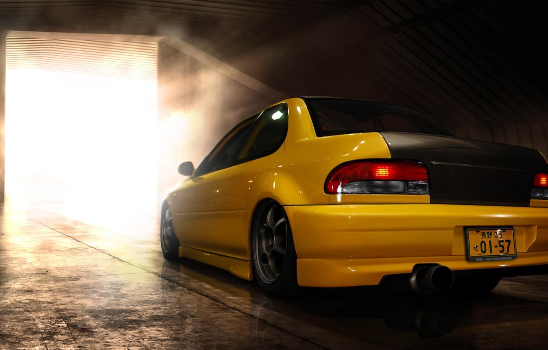 Photo wallpaper photo, Subaru, Impreza, cars, auto, tuning