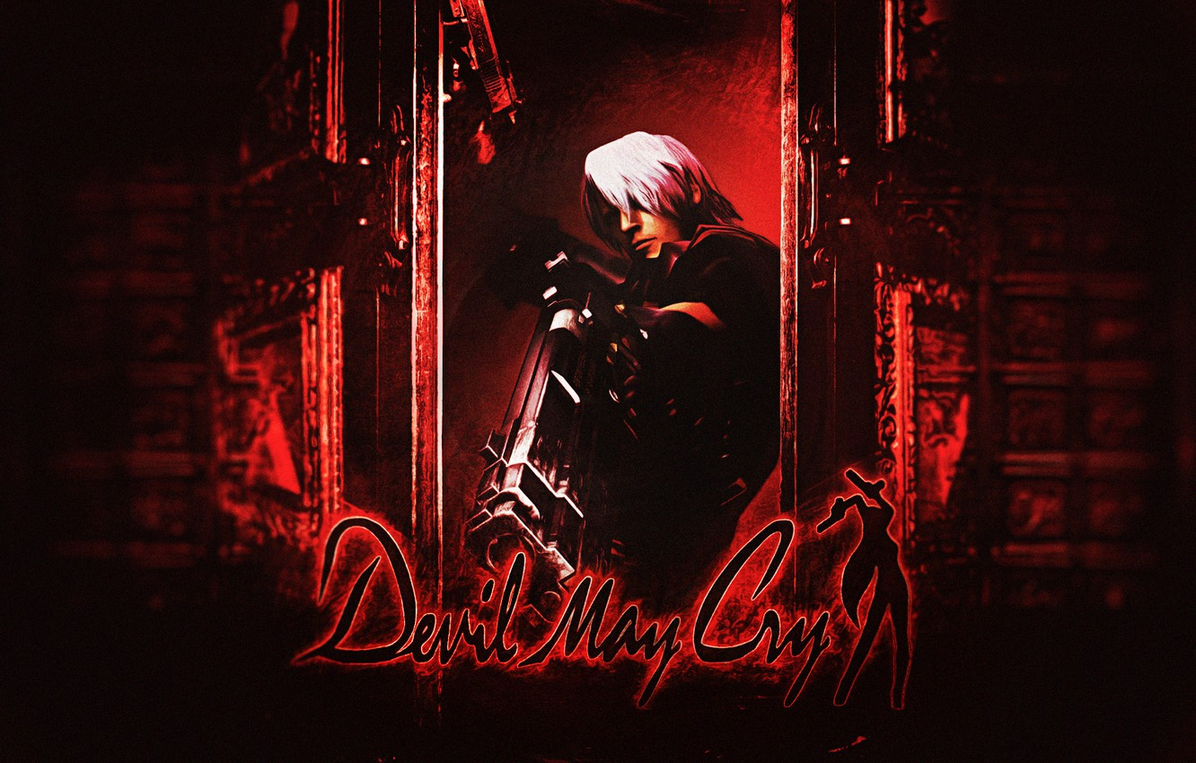 Wallpaper Gun Dante Background Capcom Dmc Devil May Cry Video Game Playstation 2 Images For Desktop Section Igry Download