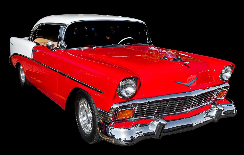 Photo wallpaper retro, coupe, Chevrolet, car