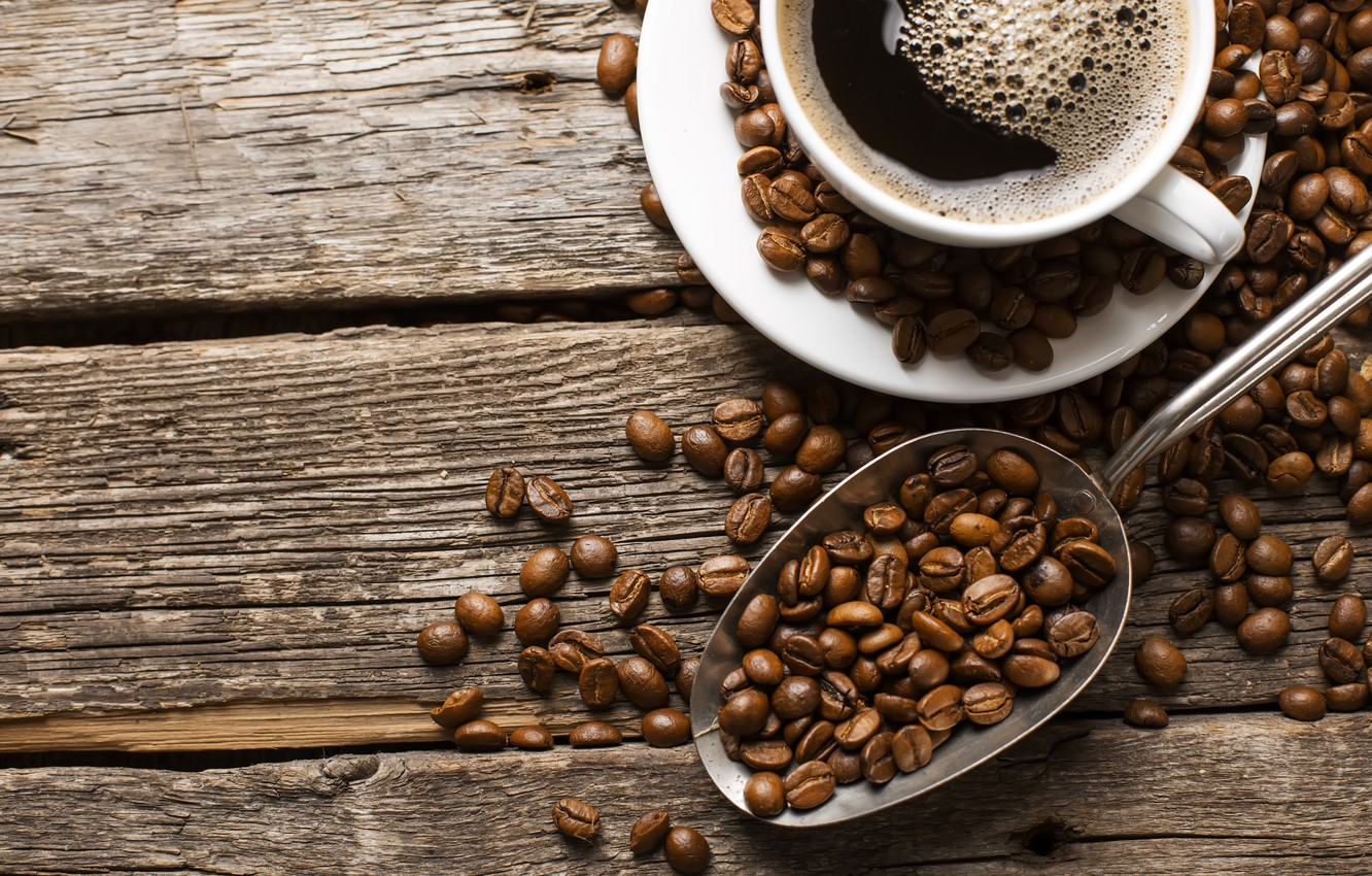 Wallpaper Cup Liquid Coffee Coffee Beans Images For