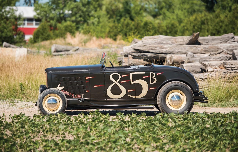 Photo wallpaper Roadster, Ford, Hot Rod, 1932, Hot rod, Hi-Boy