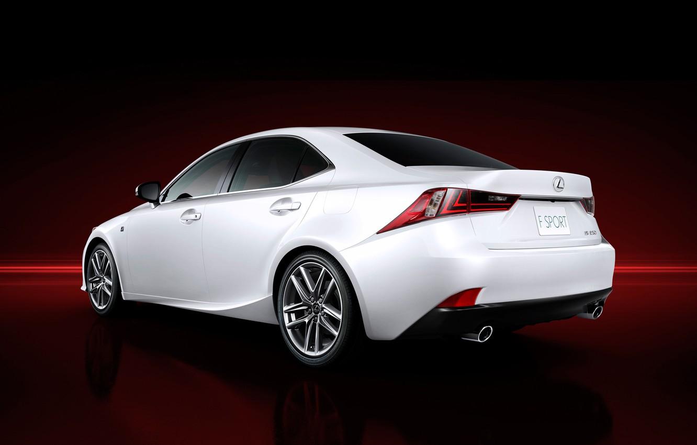 Photo wallpaper car, Lexus, wallpapers, new, 2013, F-Sport, IS 250