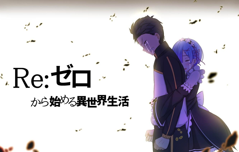 Wallpaper Anime Art Pair Drama Subaru Re Zero Kara Hajime Chip