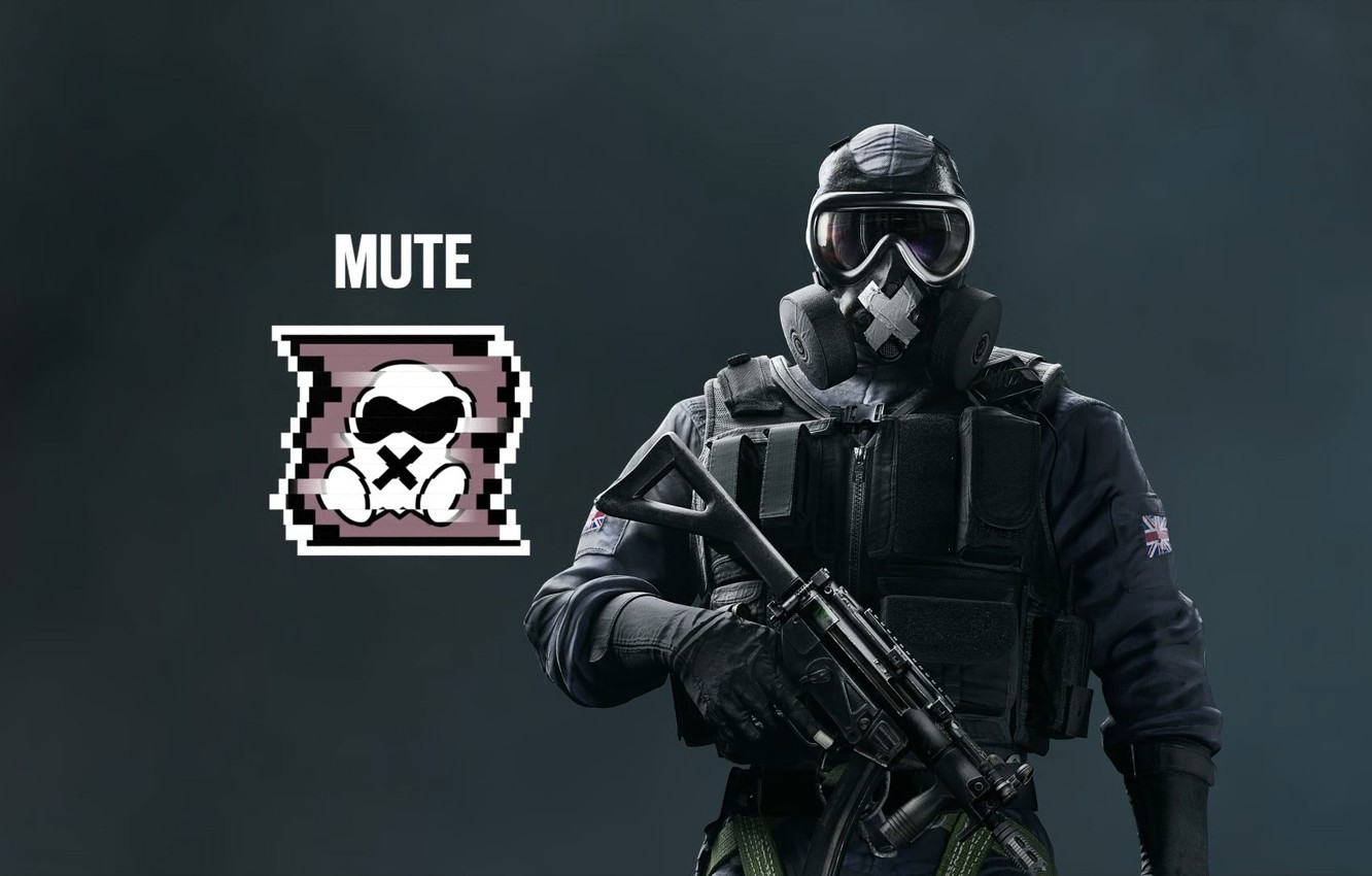 Wallpaper Tom Clancy S Rainbow Six Siege Mute Ubisoft Images For