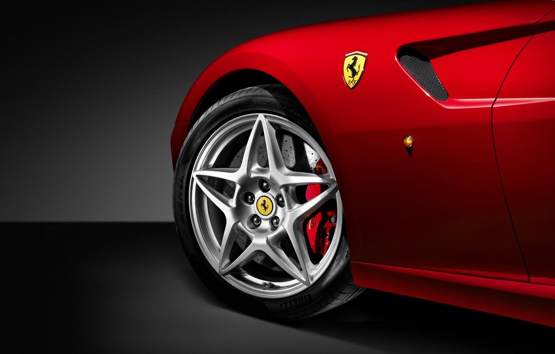 Photo wallpaper Ferrari, logo, Ferrari 599 GTB Fiorano, Luxury