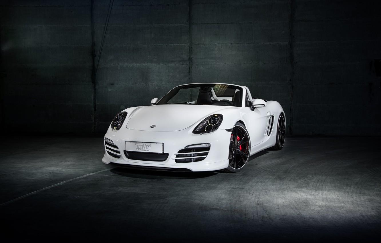 Photo wallpaper Porsche, Roadster, Porsche, Boxster, TechArt, bokster