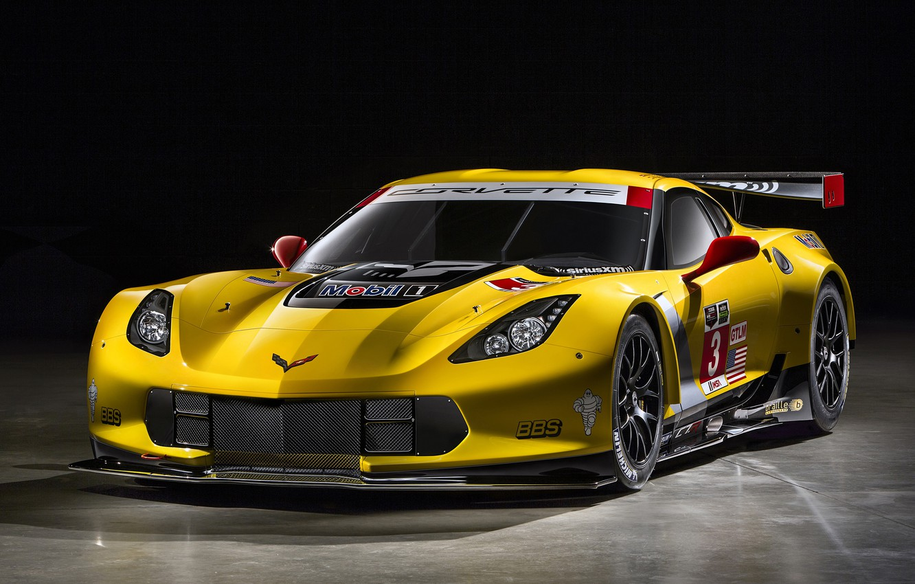 Photo wallpaper Corvette, Chevrolet, 2014, C7.R