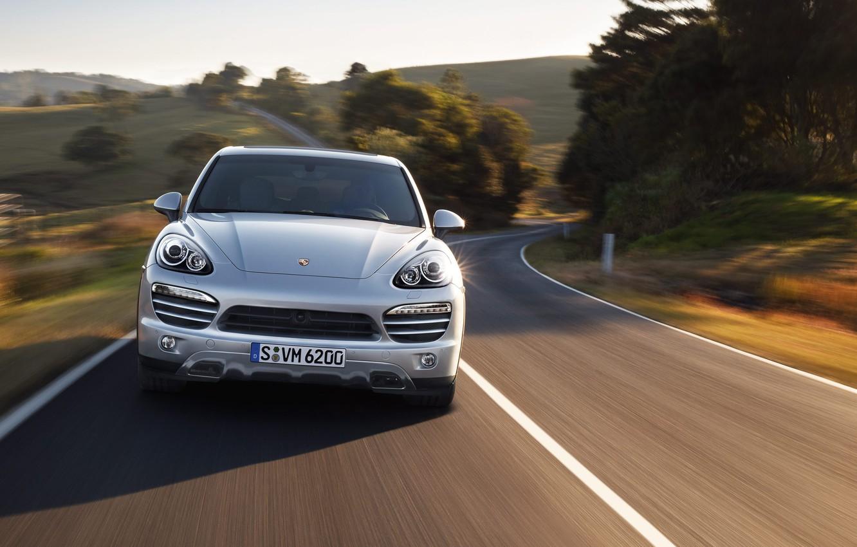 Photo wallpaper machine, Porsche, Porsche Cayenne, Porsche, Porsche Cayenne