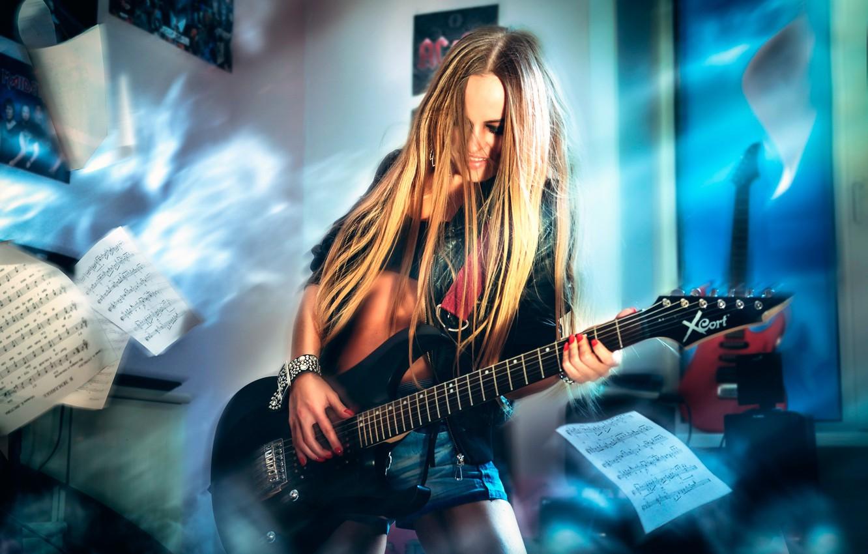 Wallpaper Notes Guitar Rock Guitarist Images For Desktop Section Muzyka Download