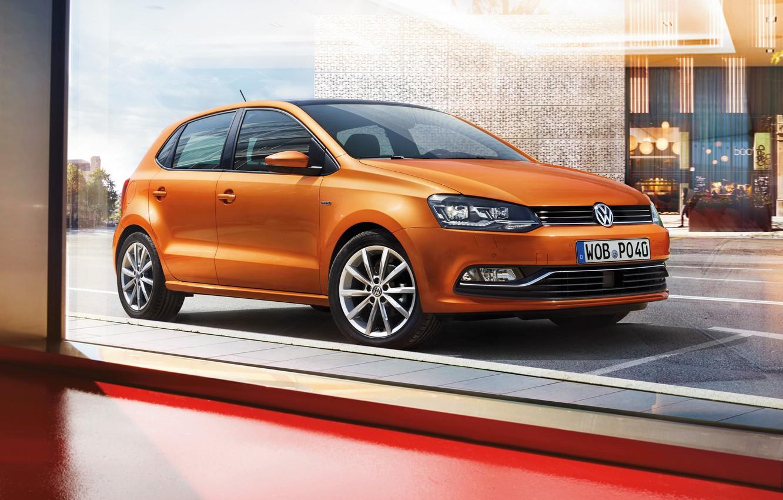Photo wallpaper Volkswagen, Volkswagen, Polo, Polo, 2015