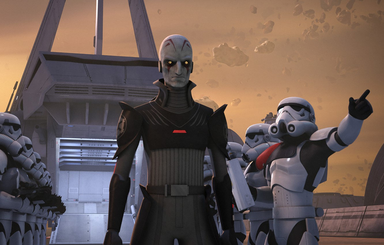 Wallpaper Empire Animated Series Grand Inquisitor Star Wars Rebels Star Wars Rebels Images For Desktop Section Filmy Download