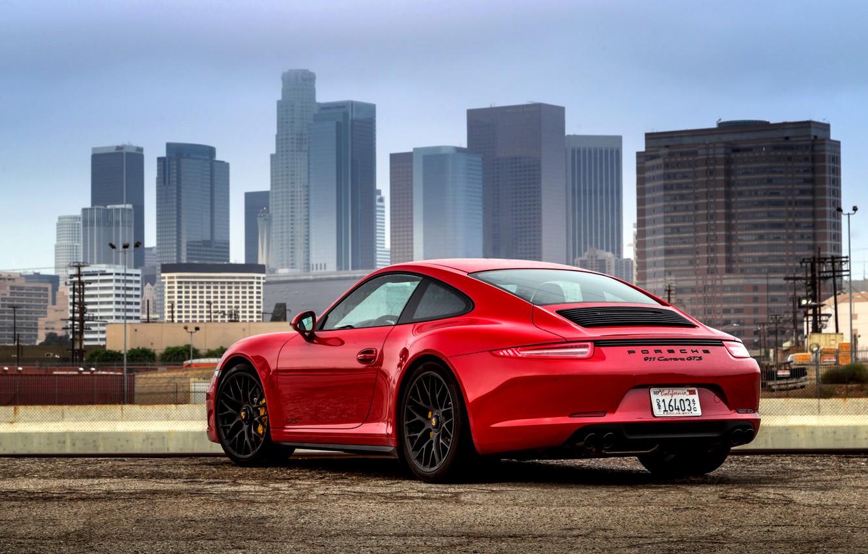 Photo wallpaper 911, Porsche, Porsche, Coupe, Carrera, GTS, Carrera, 2014