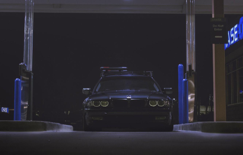 Photo wallpaper lights, BMW, Boomer, BMW, 750, BBS, E38, Bimmer