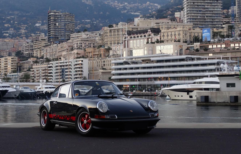 Photo wallpaper Porsche, Carrera, 2.7