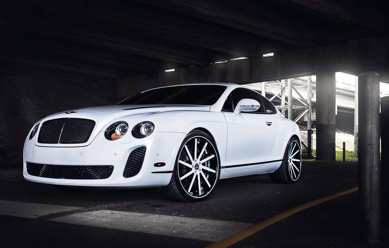 Photo wallpaper Auto, Bentley, Tuning, Machine, Drives, Parking