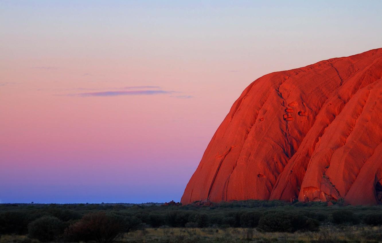 Photo wallpaper Australia, Uluru, National Park, Ayers Rock