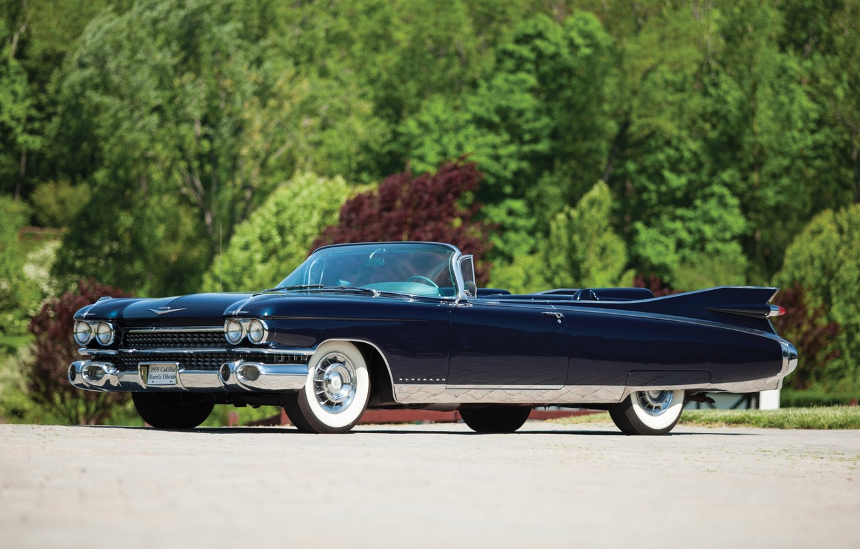Photo wallpaper Eldorado, Cadillac, Eldorado, classic, the front, 1959, Cadillac, Biarritz