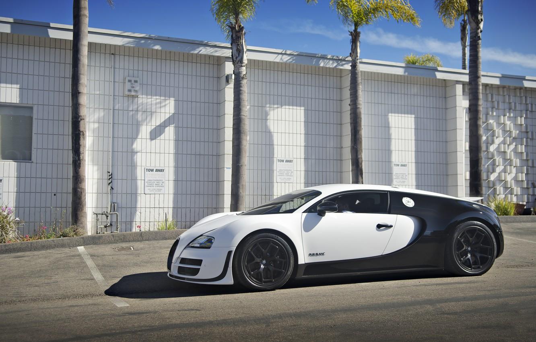 Photo wallpaper Bugatti, Veyron, Super, Sport, Price, Blanc, Pur