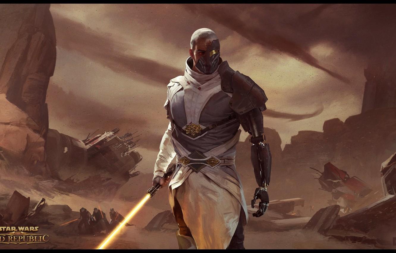 Wallpaper Star Wars Old Republic Arcann Fall Of The