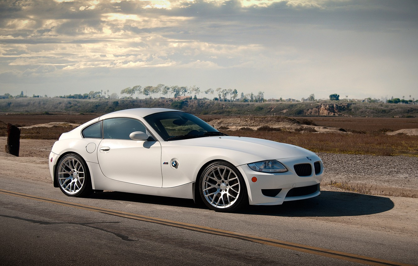 Photo wallpaper BMW, BMW, white, white, Z4M