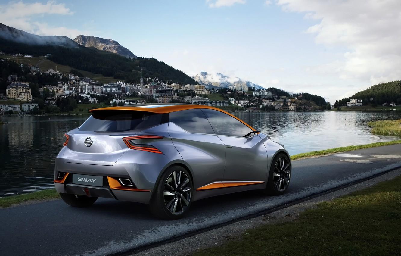 Photo wallpaper Concept, Sway, Nissan Concept, Nissan Sway, Nissan Cars, Nissan Sway Concept, Nissan Wallpaper