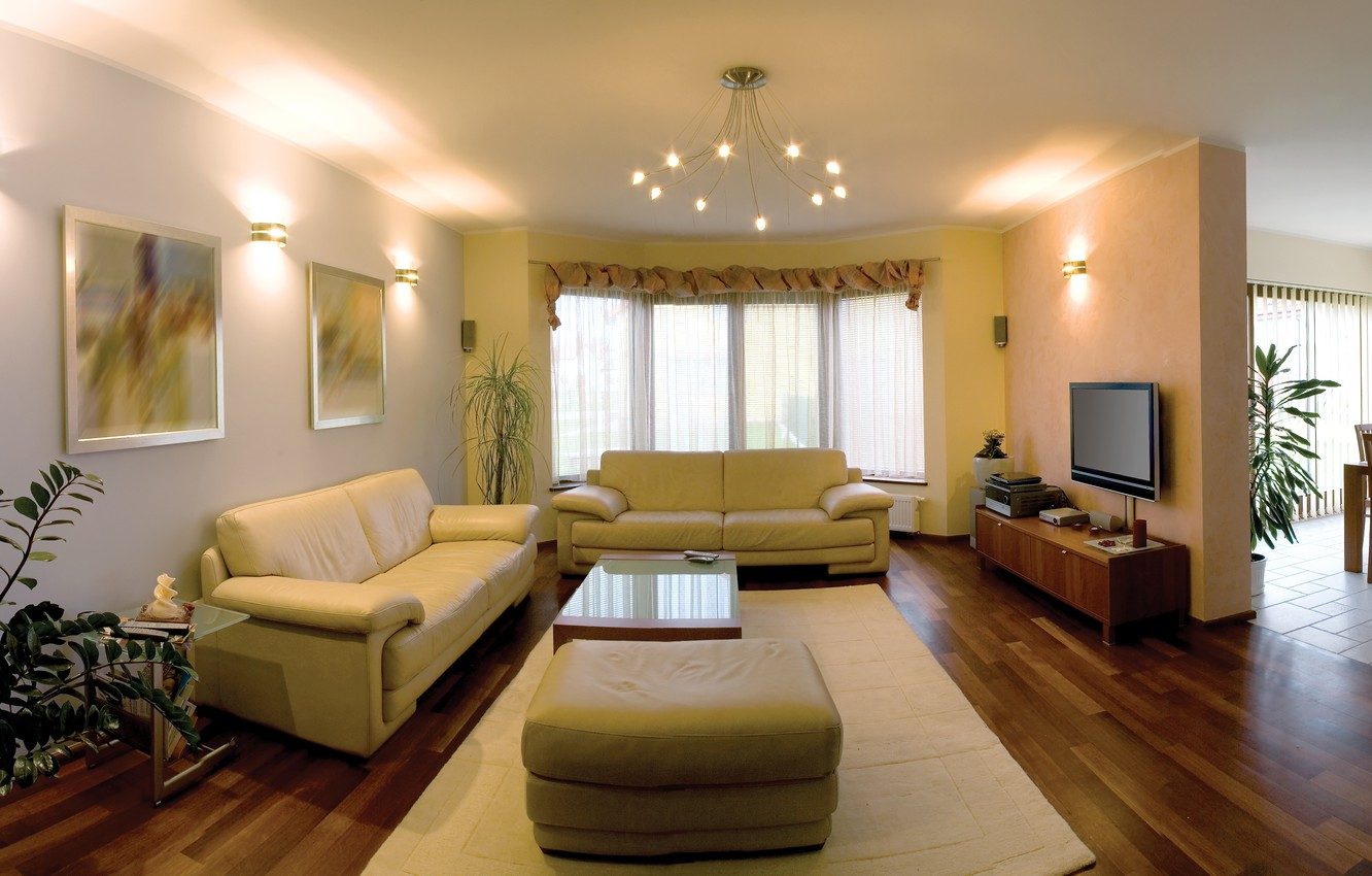 Photo wallpaper style, mood, stay, interior, apartment, furnished