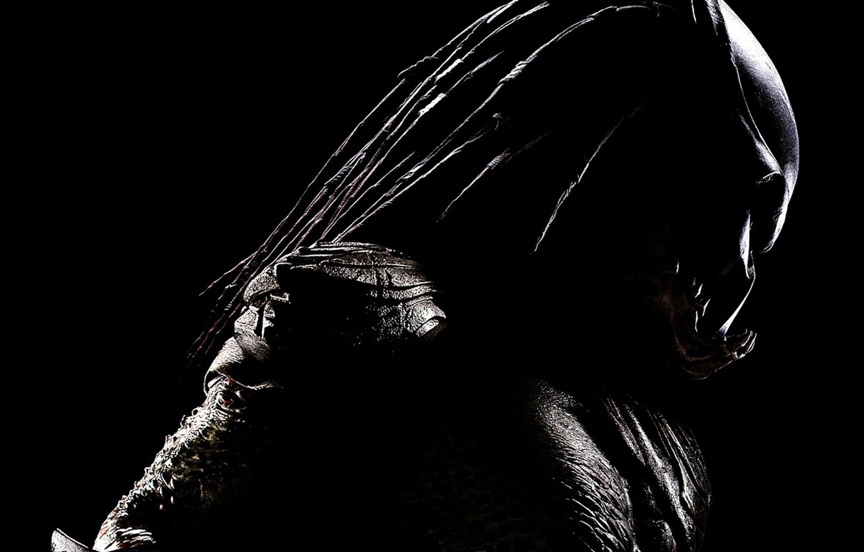 Photo wallpaper black, predator, Predator