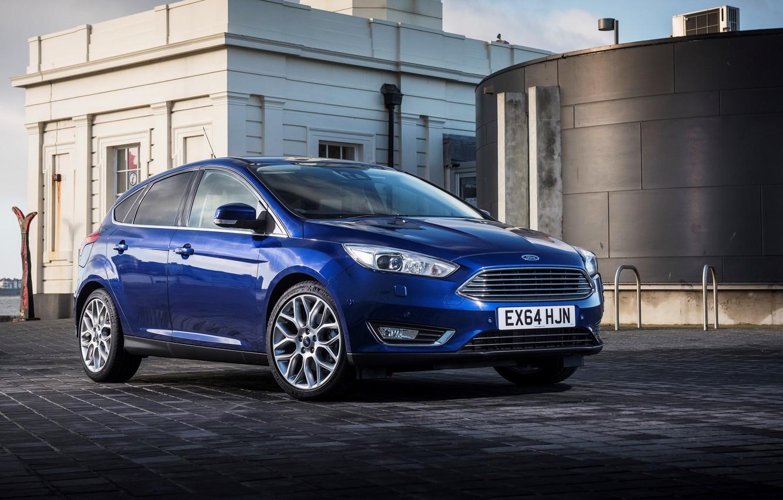 Photo wallpaper Ford, focus, Focus, Ford, UK-spec, 2014