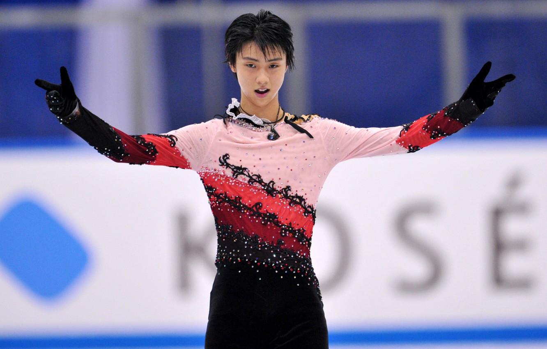 Wallpaper Figure Skating Rhinestones Japan Yuzuru Hanyu Skating Images For Desktop Section Sport Download