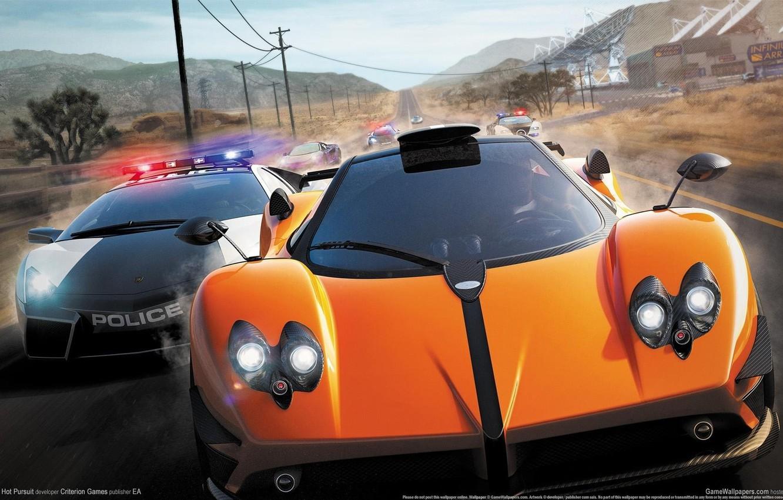 Обои hp, hot pursuit, Need for speed hot pursuit. Игры foto 8