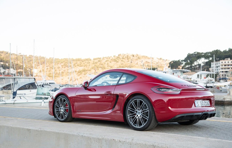 Photo wallpaper Porsche, Cayman, GTS