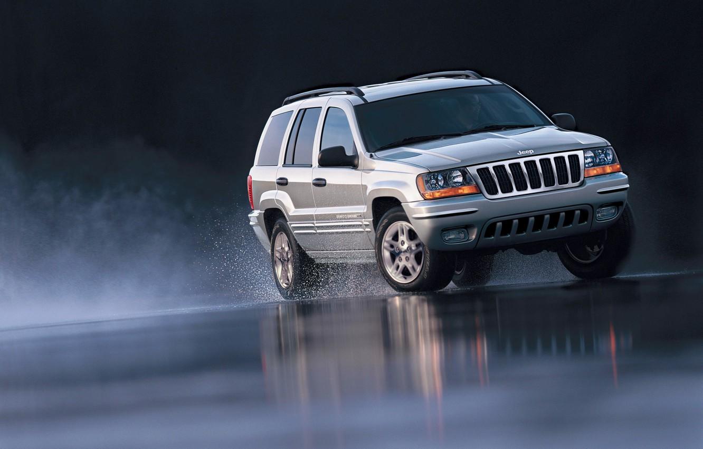 Photo wallpaper car, machine, auto, 2002, Special Edition, Jeep, Grand Cherokee