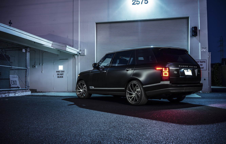 Photo wallpaper Land Rover, Range Rover, Sport, Collection, Aristo, Rear