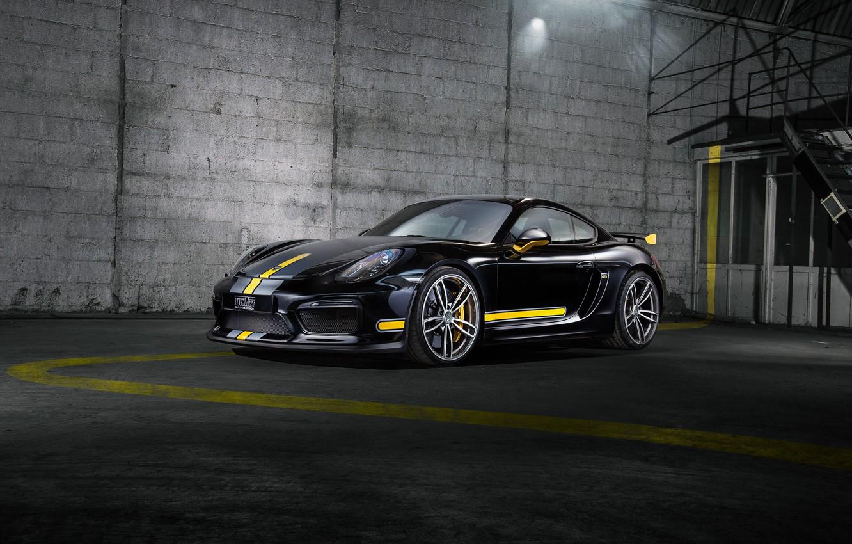 Photo wallpaper Porsche, Cayman, Porsche, GT4, TechArt, Caiman