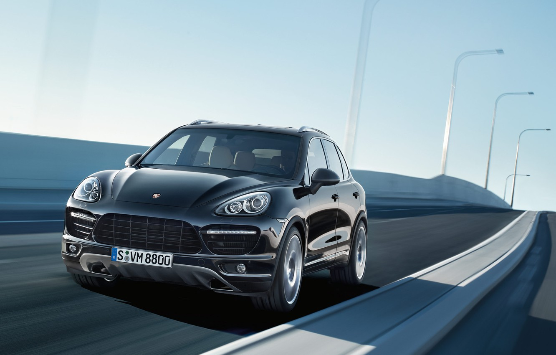 Photo wallpaper machine, Porsche, SUV, car, Porsche, crossover, Porsche Cayenne, Porsche Cayenne Turbo