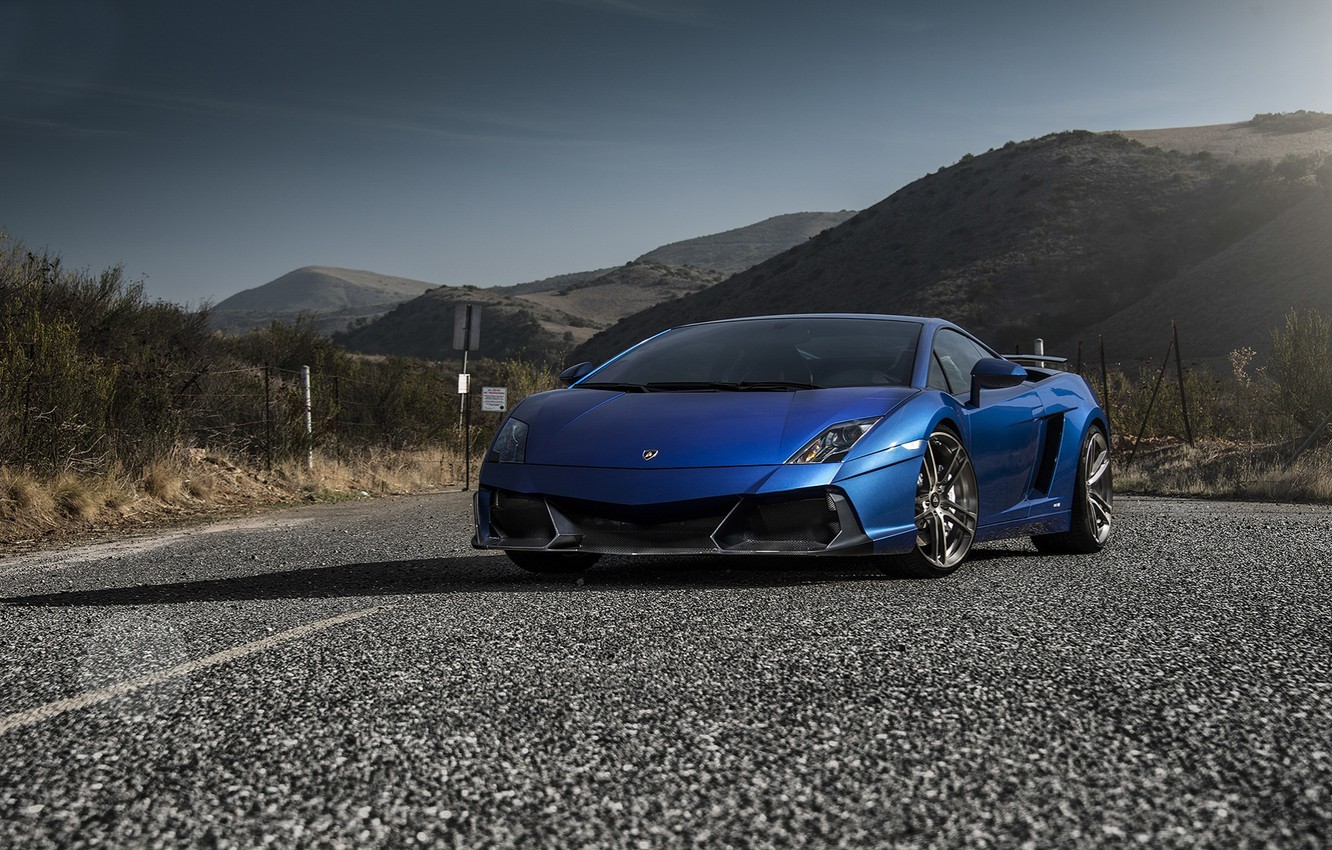 Photo wallpaper Lamborghini, Gallardo, Vorsteiner, Tuning, LP5502, Renazzo