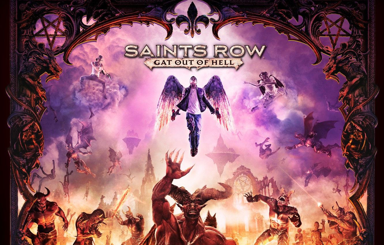 Wallpaper Saints Row Gat Out Of Hell Saints Row 2015 Images For