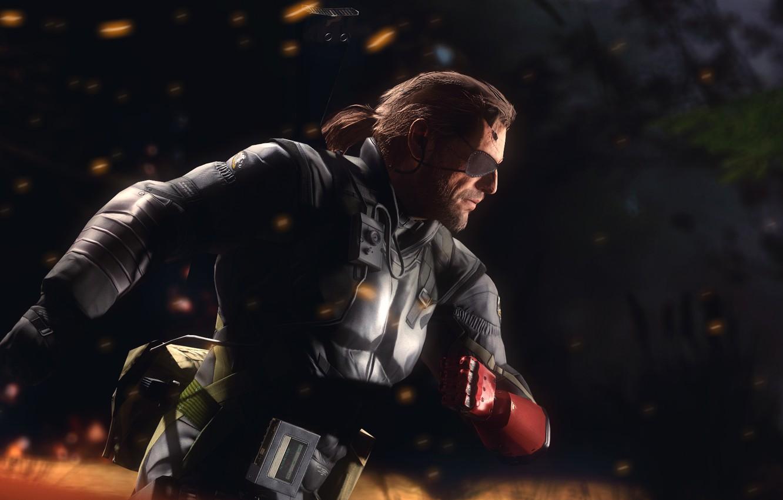 Wallpaper Big Boss Metal Gear Solid V The Phantom Pain Venom