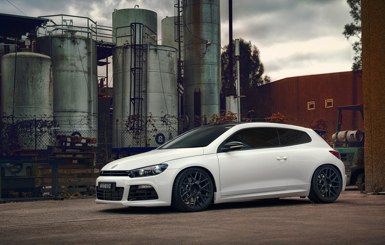 Photo wallpaper tuning, volkswagen, Volkswagen, scirocco, Sirocco