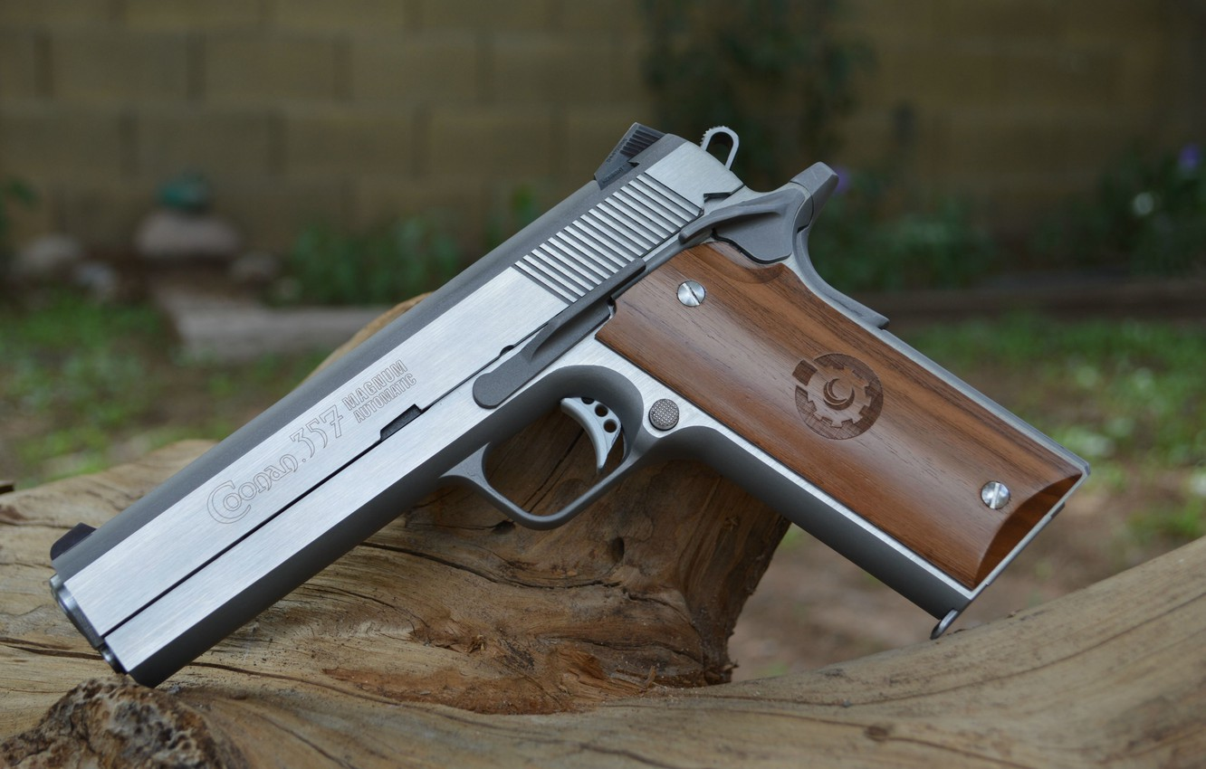 Photo wallpaper weapons, Magnum, Magnum, 357, Coonan Classic
