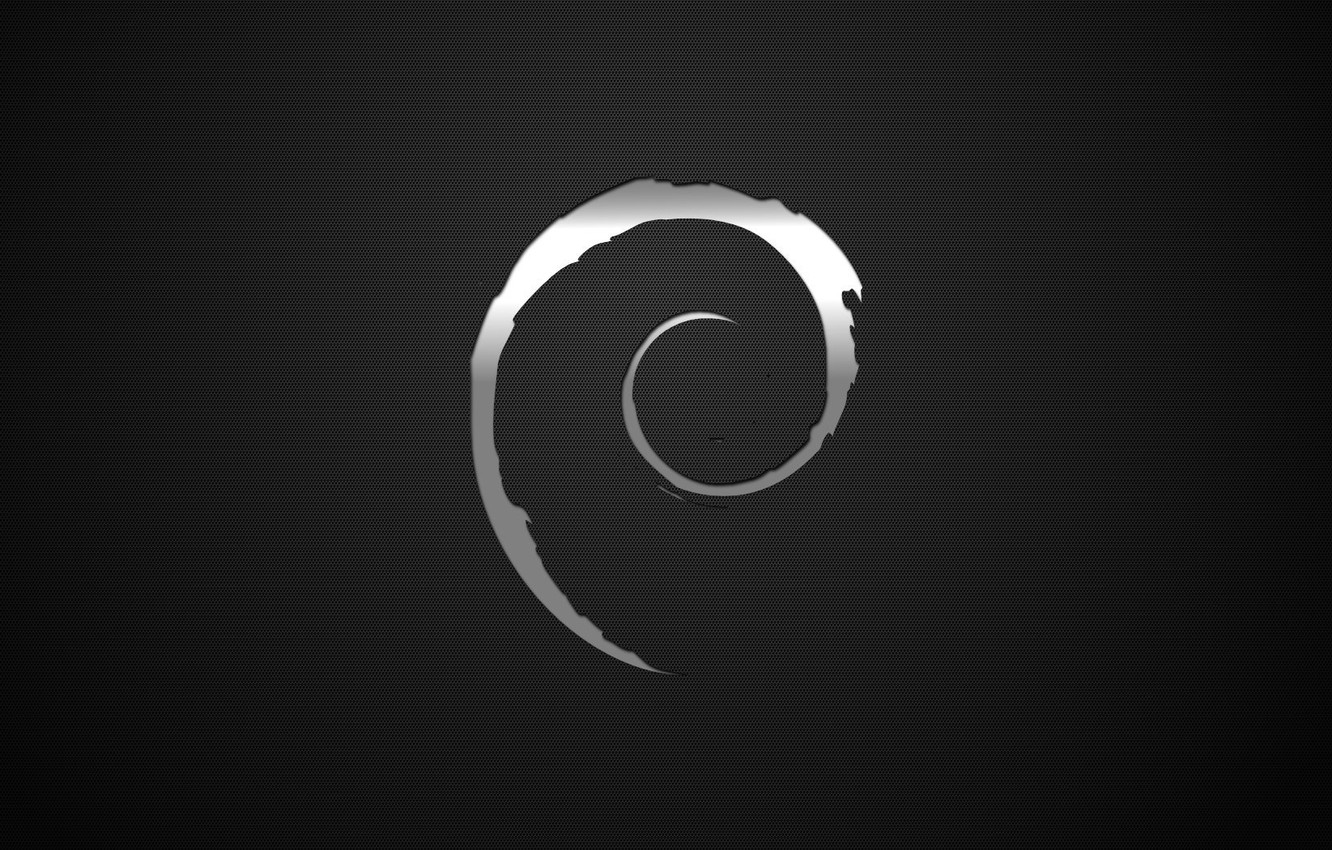 Wallpaper dark, Linux, Debian images for desktop, section hi-tech