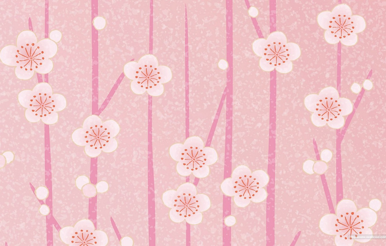Photo wallpaper flowers, background, Wallpaper, roses, texture, flowers, full screen, pink. leaves