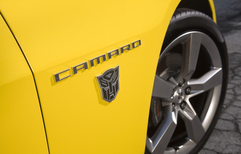 Photo wallpaper Chevrolet, Chevrolet Camaro, Bumblebee
