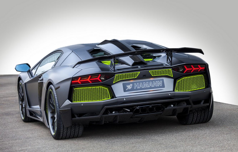Photo wallpaper Lamborghini, LP700-4, Aventador, 2014, Limited, HAMANN