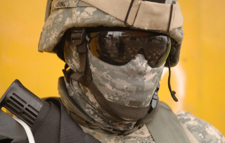 Photo wallpaper mercenary, marine, Camouflage, Army Combat Uniform (ACU), US Army