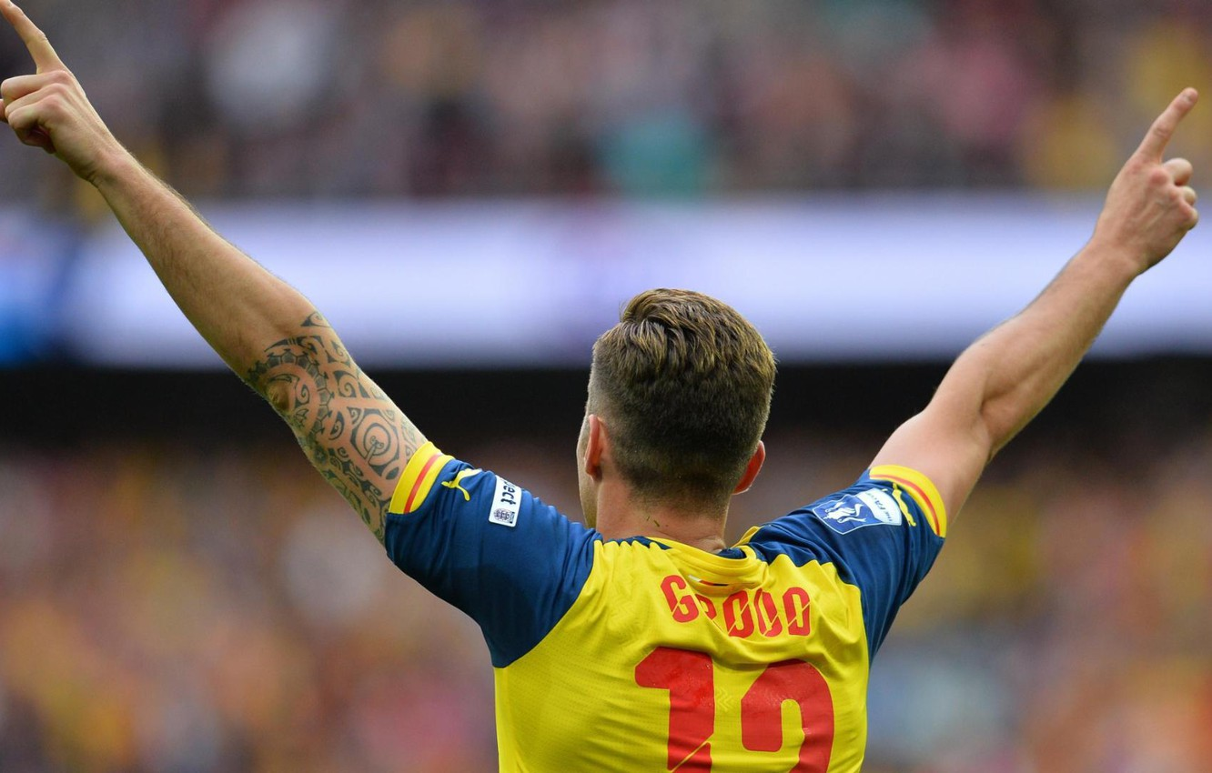 Photo wallpaper background, victory, Arsenal, Arsenal, Football Club, the gunners, The Gunners, football club, Olivier Giroud, Olivier …