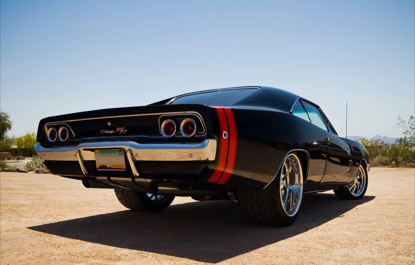 Photo wallpaper drives, dodge, charger, R/t