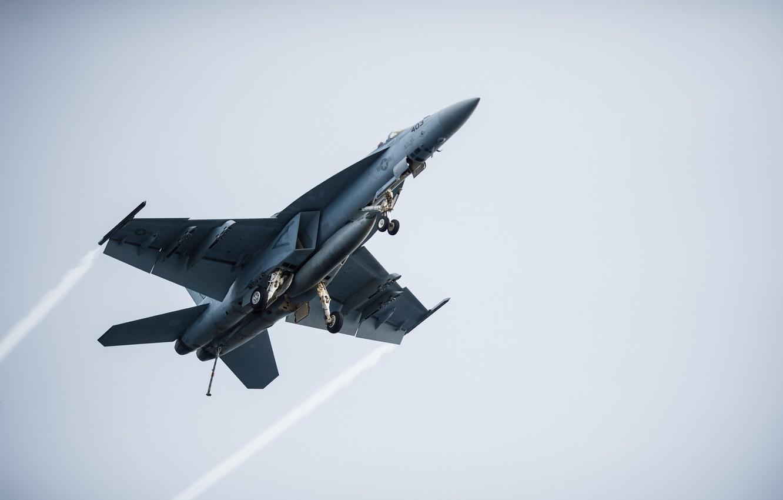 Photo wallpaper weapons, the plane, FA-18E Super Hornet