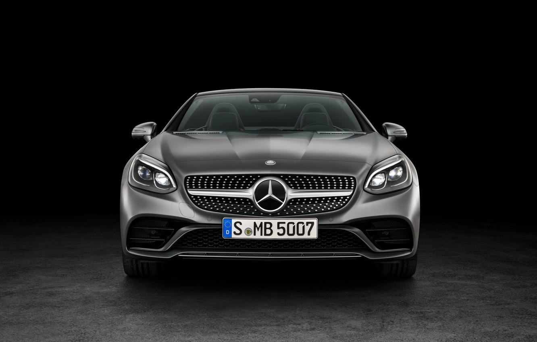 Photo wallpaper Mercedes-Benz, convertible, Mercedes, AMG, R172, SLC-Class
